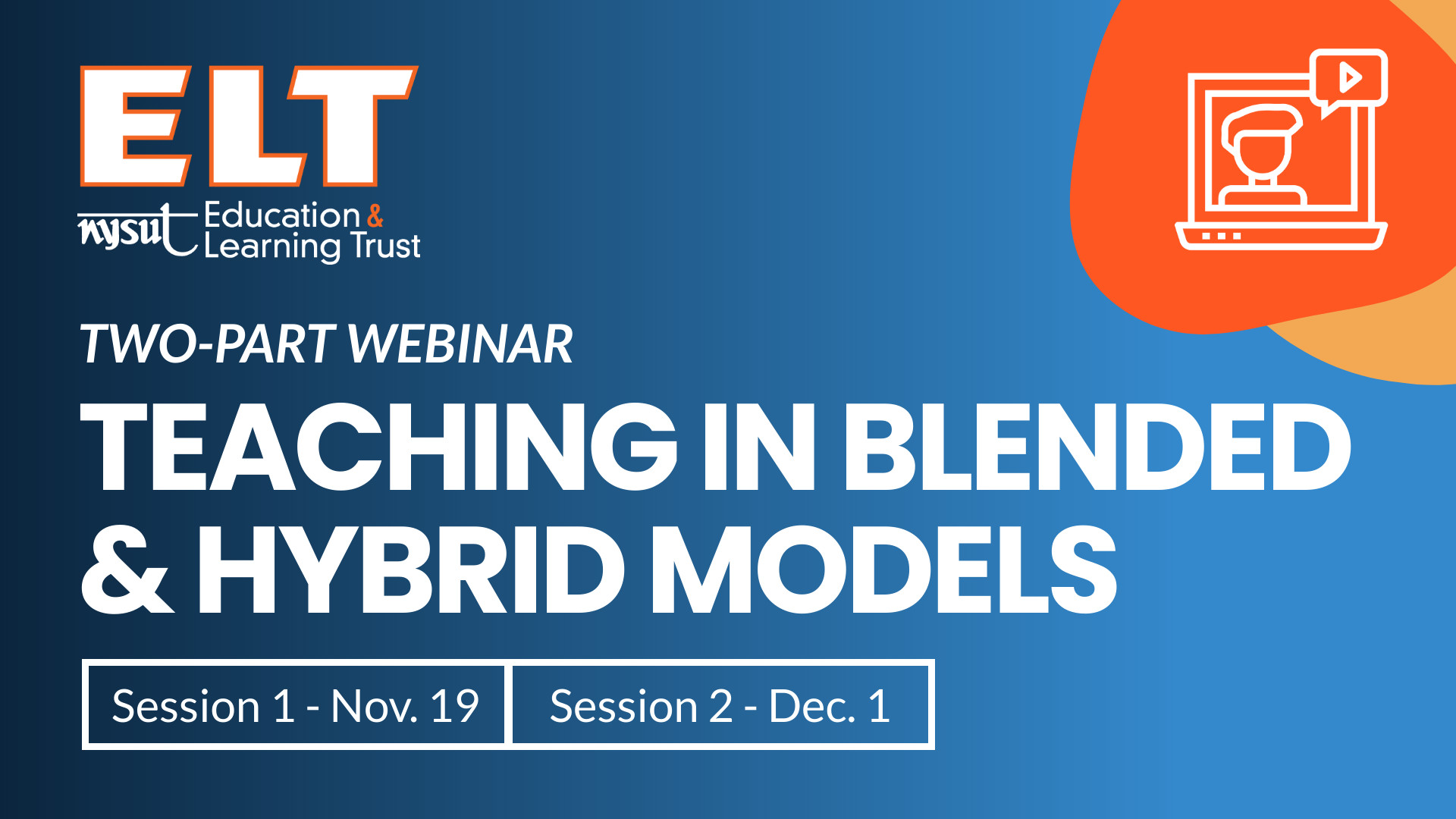 Teaching in Blended and Hybrid Models